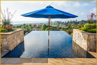 Questar Pools Infinity Edge, Zero Edge and Vanishing Edge Design