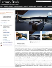 Luxury Pools Spring 2013 - Breathtaking Innovation (Ext. Link)
