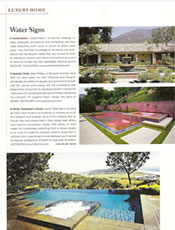 Robb Report - Luxury Homes Water Signs May 2008