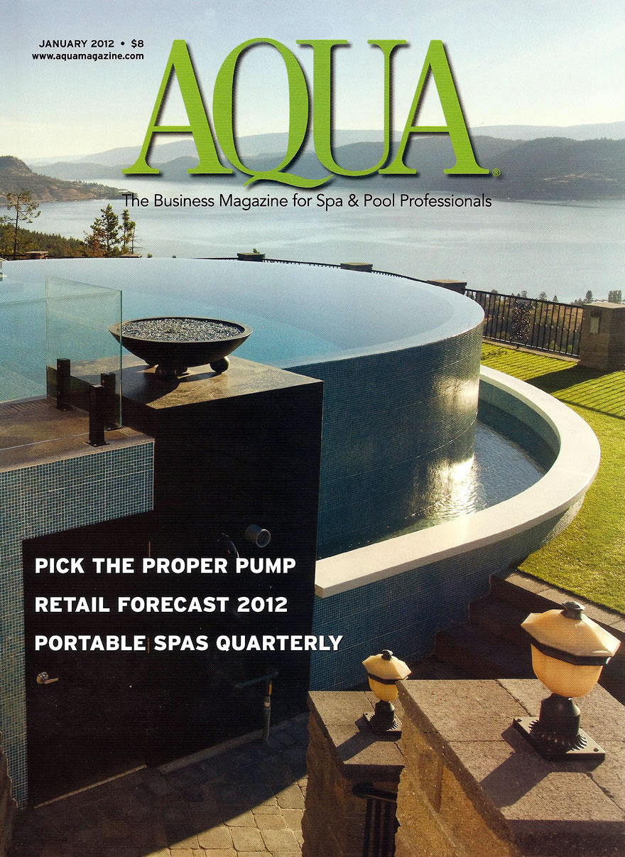Aqua Magazine - Aqua Choice Awards Jan 2012