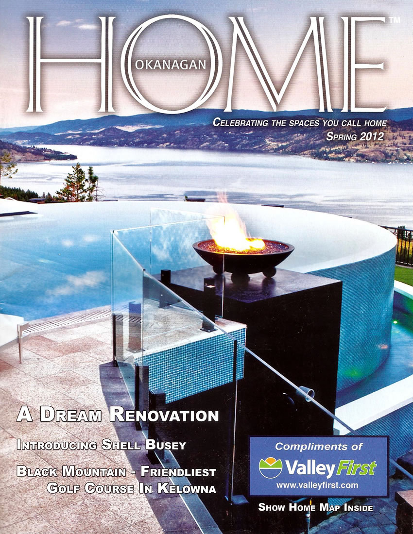 Cover Home Okanagan - Spring 2012