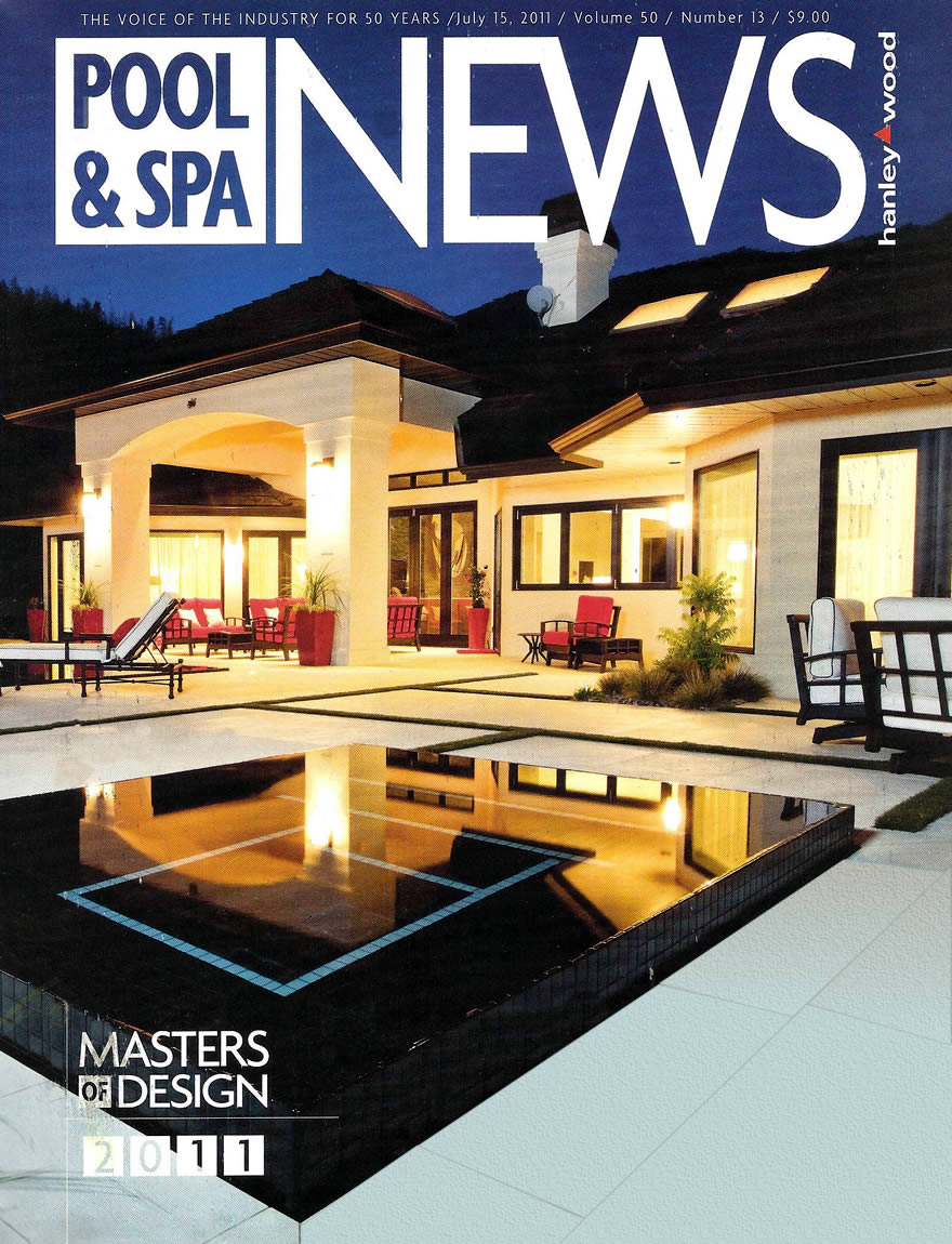 Pool And Spa News Award Article   Masters Of Design July 2011