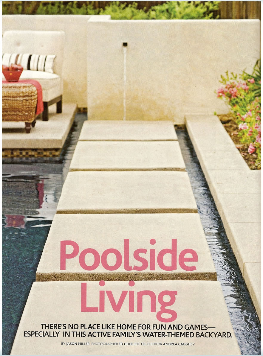 Garden Deck And Landscape Poolside Living Spring 2008