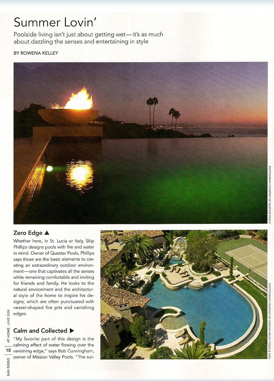 San Diego Magazine – Summer Lovin June 2008