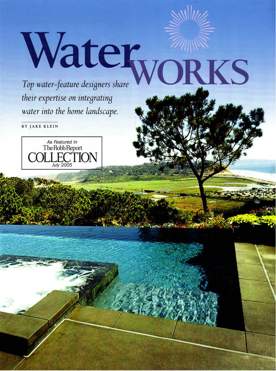 Robb Report Collection - Water Works July 2005