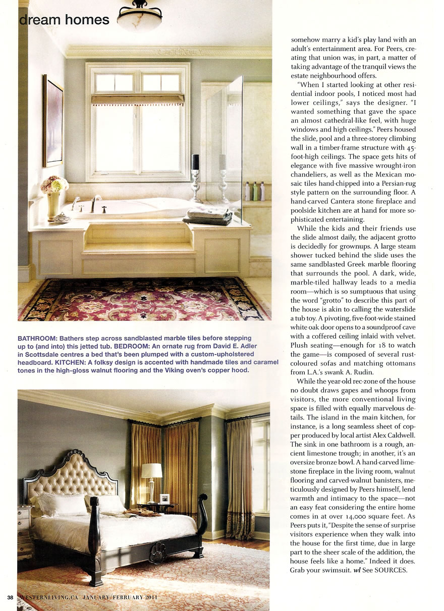 Western Living - Dream Homes  Funhouse Jan Feb 2011