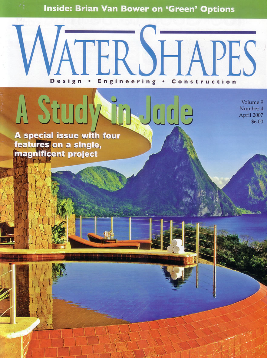 Watershapes Magazine - Cutting Edges April 2007