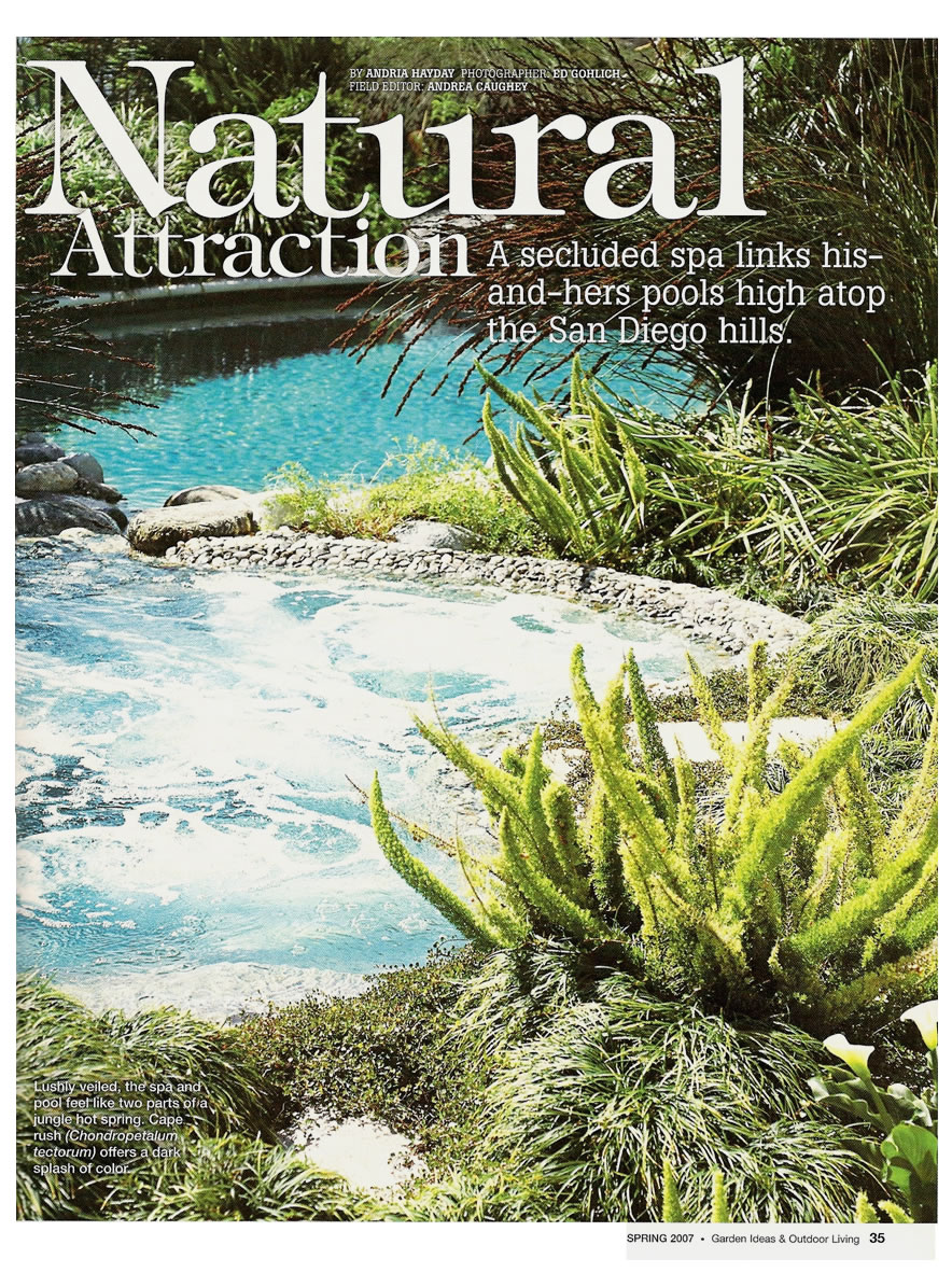 Natural Attractions by Andria Hayday Spring 2007