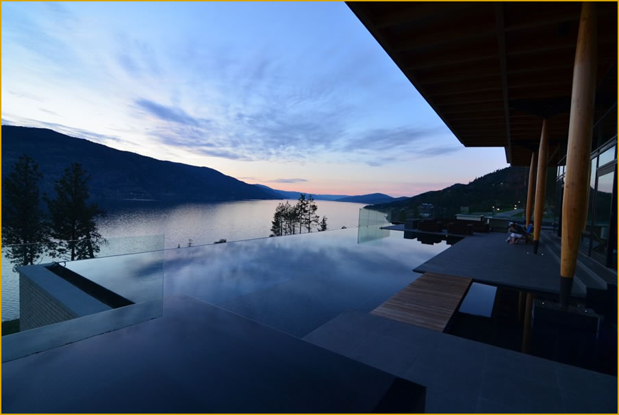 Kelowna british columbia canada project profiles pool for Pool design kelowna